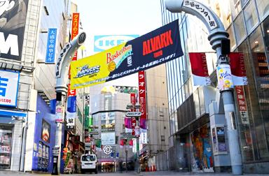 【東京校】は各線渋谷駅から徒歩5分と、学校帰りや仕事の帰りにも通いやすい!!